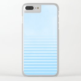 Sweet Life Collection Gradient Blue Raspberry Clear iPhone Case