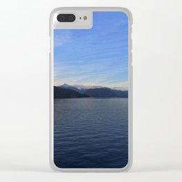 Ocean Calm I Clear iPhone Case