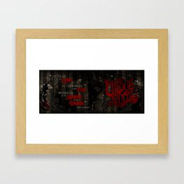 The Life of The Mind Framed Art Print