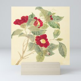 Red flowers , red flowers Mini Art Print