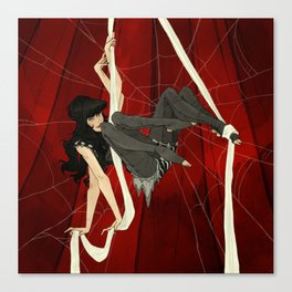 Charlotte the Spider Girl Canvas Print