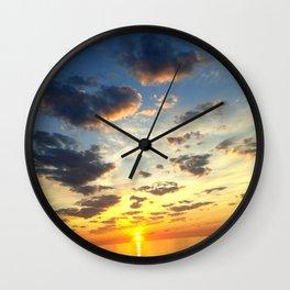Acidic Sunrise - DreamScapes Collection Wall Clock