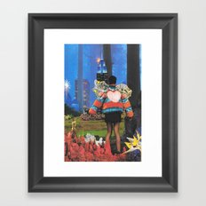 City of Dreams Framed Art Print