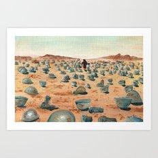 The Battlefield. Art Print