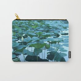 Shades of Monet (water lilies) Carry-All Pouch