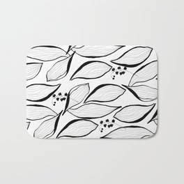 lilies of the valley Bath Mat