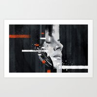 jack white Art Prints featuring Hip Poor Boy by Your Music Design