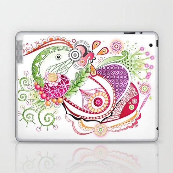 Spring tangle Laptop & iPad Skin