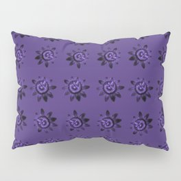 passion flower in violet Pillow Sham