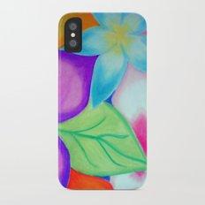 Friggin Flowerz iPhone X Slim Case
