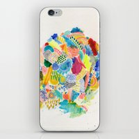 katamari iPhone & iPod Skins featuring It's like a fucking awesome incredible dream by Marcelo Romero