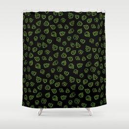Hopcone Pattern Shower Curtain