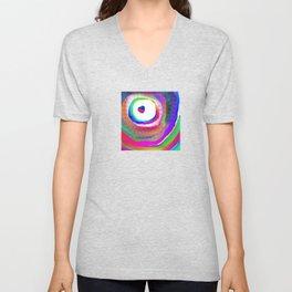Space Rainbow Unisex V-Neck