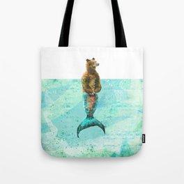 Mer-Bear - West Coast wonders rarely seen Tote Bag