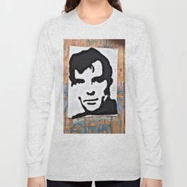 """""""HERE'S TO THE CRAZY ONES""""/Jack Kerouac Long Sleeve T-shirt"""