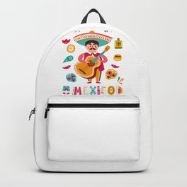 Man with Guitar – Mexico Backpack