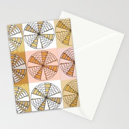 Macrame Circles Stationery Cards