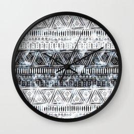 Mendhi #1 Wall Clock