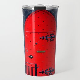 Red Door Travel Mug