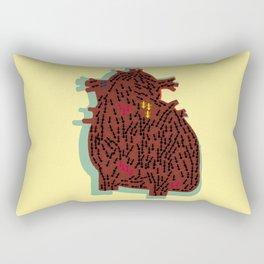 ants and heart Rectangular Pillow