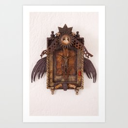Gloria Mundi Shrine Art Print