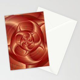 Copper Pincers Spiral Stationery Cards