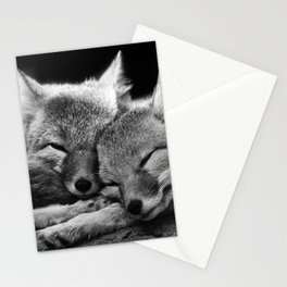 FOX COUPLE Stationery Cards