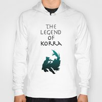 the legend of korra Hoodies featuring The Legend of Korra [1/2] by Shane Lewis