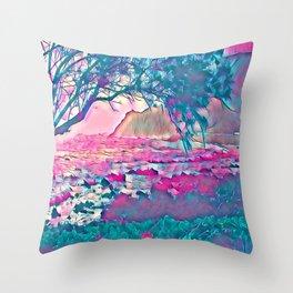 Fantasy Islands 2 Throw Pillow