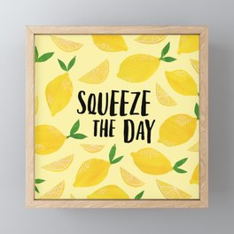 Squeeze the Day Framed Mini Art Print