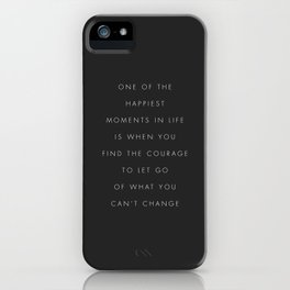 One Of The Happiest Moments In Life iPhone Case