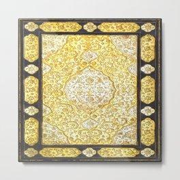 Sacred Gold Book Metal Print