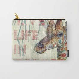 live life in colors Carry-All Pouch