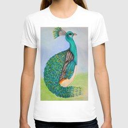 Squatty Peacock T-shirt