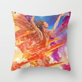 A Thunderous Anthem  Throw Pillow