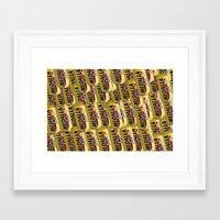 beer Framed Art Prints featuring Beer by Silmagerie
