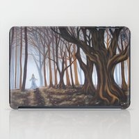 forrest iPad Cases featuring Dark Forrest by Annette Jimerson