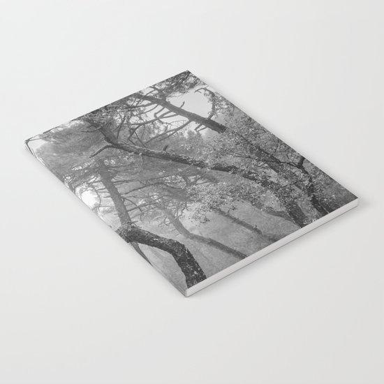 """Forest dance"" BW Notebook"