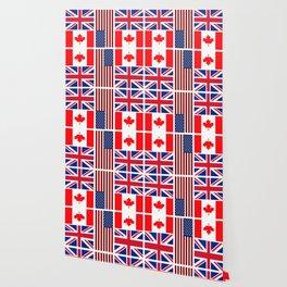 ABC Three Flags Wallpaper