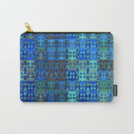 Vintage African Textile Surface Design Carry-All Pouch