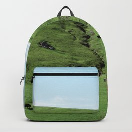Green Rolling Hills of Central California 2 Backpack