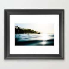 Malibu Seascape Framed Art Print