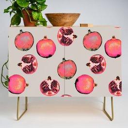 Pomegranate Pattern Credenza