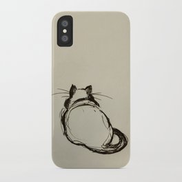 Fat Cat iPhone Case