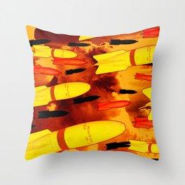 Rockets Man Throw Pillow