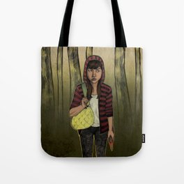 There Are Wolves in the World Tote Bag