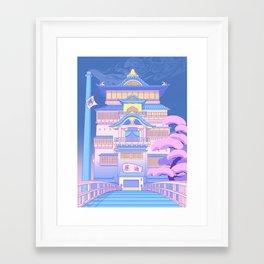 The Bath House Framed Art Print