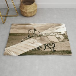 Old Airplane Rug