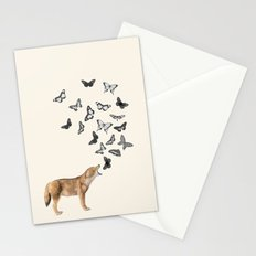Screaming Butterflies Stationery Cards