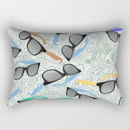 80's Shades Rectangular Pillow